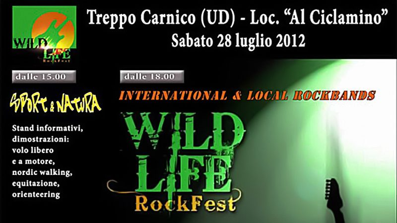 One Possible Option, Announcement: Wild Life Rock Fest 2012