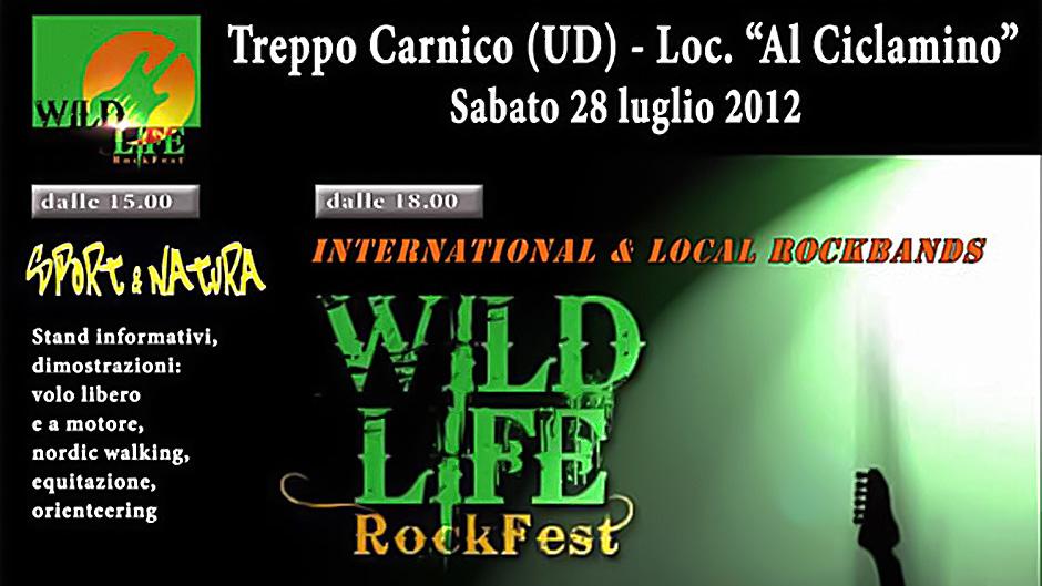 One Possible Option, Najava: Wild Life Rock Fest 2012.